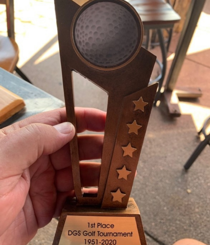 1st Place First Flight Trophy